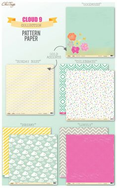 ** Chic Tags- delightful paper tag **: CHAW reveal Cloud 9