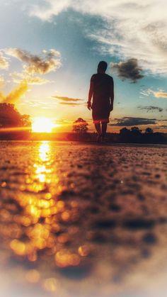 Por do Sol...