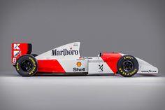 Ayrton Senna's 1993 McLaren-Cosworth F1 Car
