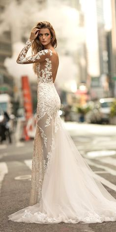 Amazing Berta Bridal Collection 2017 ❤ See more: http://www.weddingforward.com/berta-bridal-collection/ #weddings
