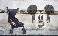 Disney by Easywalker ¡Yo quiero uno! Disney Mickey, Baby Strollers, Children, Canela, Cribs, Walks, Chairs, Cars, Baby Prams
