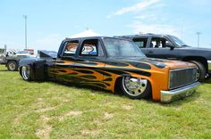 Classic Chevy dually..