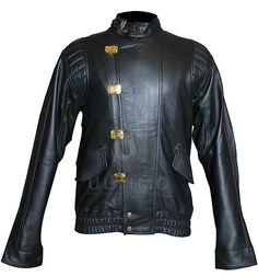 Akira Kaneda Biker Capsule Black Jacket  	This Black cowhide leather biker's jacket will totally drive you crazy.  The cowhide leather which has been used is of premium quality and each stitch of this jacket has been made with dedication. 'Shotaro Kaneda' worn this irresistible jacket in t