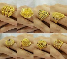 Price For Gold Jewelry Gold Ring Designs, Gold Jewellery Design, Gold Rings Jewelry, Gold Bangles, Bridal Jewelry, Ring Design For Female, Gold Finger Rings, Gold Gold, Gold Leaf