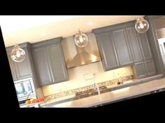 Best Paint Colors For Kitchen Cabinets And Bathroom Vanities Glazed Kitchen Cabinets, Kitchen Cabinet Remodel, Kitchen Cabinet Styles, Diy Kitchen Remodel, Refinish Kitchen Cabinets, Painting Kitchen Cabinets, Kitchen Paint, Kitchen Tips, Nancy Kitchen