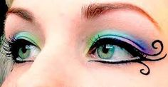 Resultado de imagen para maquillaje hindu con el ojo magico