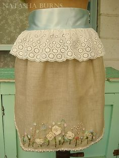 apron made for altered apron swap by  Natasha Burns