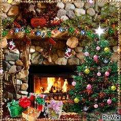 Merry Christmas Photo Frame, Christmas Tree Gif, Christmas Scenery, Whimsical Christmas, Merry Christmas To All, Christmas Mood, Christmas Greetings, Christmas Tree Decorations, Xmas
