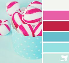 candied bright Color Palette by Design Seeds