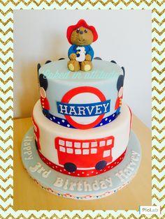 Paddington Bear birthday cake