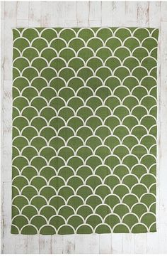 Stamped Scallop Rug 5x7 $69