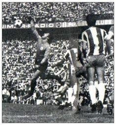António Fidalgo num Porto-Benfica.
