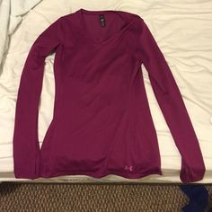Under Armour Compression Long Sleeve Shirt Only worn once. Perfect condition. Under Armour Tops