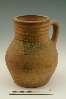 Jug Production Date: Late Medieval; Medieval World, Medieval Times, Ancient Artefacts, Arte Tribal, English Pottery, Free Museums, London Museums, Wheel Thrown Pottery, Pots