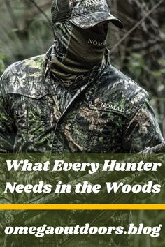 "Every hunter has a basic loadout of items that they make sure to bring every single trip. In this list, we make sure to cover every item you will need in the woods and in your pursuit of happiness. If you don't already have a good pack and find yourself asking "" what backpack should I use for hunting?"" well our suggestion is"
