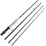 Piscifun 4-Piece Fly Rod 8-Feet 6-Inch Graphite 3/4 wt Fly Fishing Rod Fly Fishing Rods, Fly Rods, Graphite, Culture, Graffiti, Fishing Poles