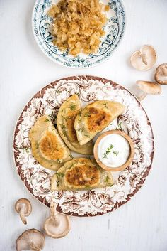 Making traditional Polish pierogi (dumplings) from scratch is a labour of love, but they taste infinitely better than store-bought. Use the mushroom and cream filling for a vegetarian version or the beef and bacon for meat lovers.