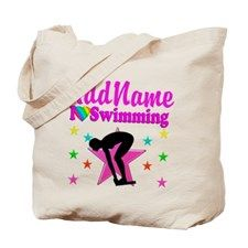 LOVE SWIMMING Tote Bag for