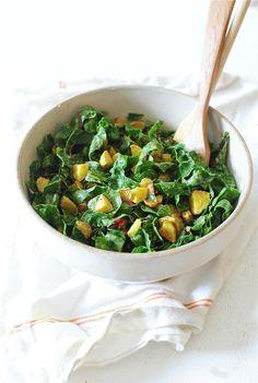 Indian Roasted Potato Salad with Swiss Chard / Bev Cooks Whole Food Recipes, Soup Recipes, Salad Recipes, Vegetarian Recipes, Cooking Recipes, Healthy Recipes, Healthy Dishes, Vegetable Recipes, Dinner Recipes