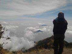 Thanks God for being my life so wonderful.  Peace feeling at top merbabu. #merbabu #indonesia