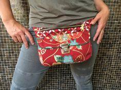 Bolso de Cadera Riñonera Bandolera de diseño: Japan por CAOMKA