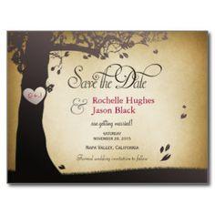 Save The Dates Postcards & Postcard Template Designs