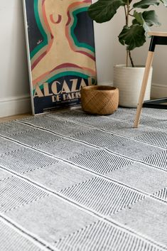 A little cheeky, although very black and white, this rug is the perfect compliment to any interior. Great for a lounge especially, this little number will keep you on your toes. Interior Rugs, Lead Time, Compliments, Hand Weaving, Lounge, Number, Black And White, Cotton, Home Decor