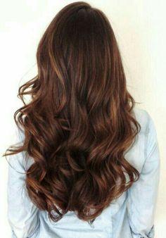 New Hair Color Warm Brunette Haircuts Ideas Red Hair Color, Hair Color Balayage, Brown Hair Colors, Auburn Balayage, Brown Hair With Red Tones, Rich Brunette Hair, Brunette Ombre, Long Brunette, Red Ombre
