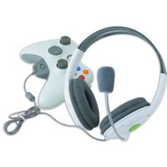 New Stereo Live Headset for Xbox 360 Wireless Controller UK