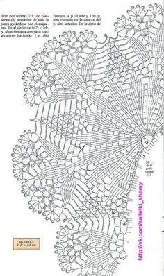 Crochet Patterns Filet, Crochet Doily Diagram, Crochet Mandala Pattern, Crochet Circles, Crochet Squares, Crochet Designs, Thread Crochet, Crochet Stitches, Crochet Dollies