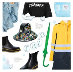 """My rainy day"" by edita1 ❤ liked on Polyvore featuring Bernardo, Dickies, Gucci, Marni, Tommy Hilfiger, LEXON, Opening Ceremony and rainydayoutfit"