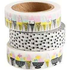 Ice Cream Washi Tape Set