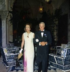 Duke and Duchess of Windsor (notice cherries which were given to Princess Michael of Kent)