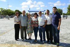 Prefeitura de Boa Vista Familiares de Fábio Marques Paracat conhecem estrutura da praça que homenageia o jovem #pmbv #boavista #roraima #prefeituraboavista #BVJ