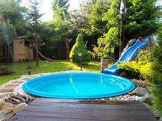 Cozy Stock Tank Swimming Pool Designs Ideas for Your Backyard - Pool Ideas 2019 Backyard Pool Landscaping, Small Backyard Pools, Small Pools, Backyard For Kids, Outdoor Pool, Backyard Ideas, Landscaping Ideas, Outdoor Spaces, Backyard Projects