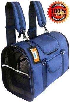 Southwest Airlines Pet Carrier Airline Approved Backpack Car Seat Cat Dog #Natuvalle