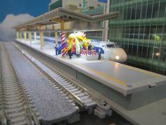 ジオラマ 新幹線 展示 - Google 検索