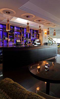 10 inspiring restaurant bars with modern flair misc pinterest rh pinterest com