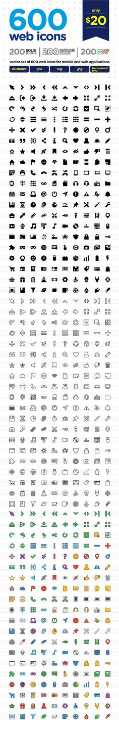 Web Icons by doghead on @creativemarket