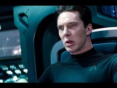 """""""No ship should go down without her captain."""" and """"Shall we begin?"""" Oh man I get the chills!! {Star Trek Into Darkness - Official Trailer #3 (HD) Benedict Cumberbatch}"""