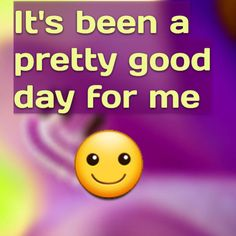 It's been a pretty good day for me  http://www.theautismdad.com/2015/10/06/its-been-a-pretty-good-day-for-me/  Please Like, Share and visit our Sponsors  #Autism #Family #SPD #SpecialNeedsParenting #Aspergers #Parenting #Sensory #ADHD #Awareness #AutsimAwareness #RobGorski #TheAutismDad #AutismDad #Divorce #SingleParenting #AutismParenting