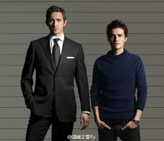 Lee Pace and Orlando Bloom