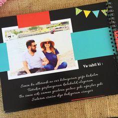 Sevgiliye sürpriz | Eşe özel bir doğum günü hediyesi | Butik tasarım hediyeler | Fotokitap | Fotoroman | Fotoğraflar, Şiirler ve Sözler Personalized Books, Event Ticket