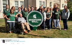 MSU Yard Sign design created by Extra Credit Projects