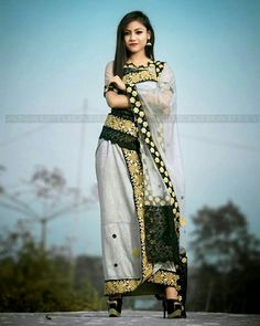 Indian Ethnic, Indian Girls, Girl Photography Poses, Western Outfits, Occasion Wear, Modern Fashion, Traditional Dresses, Refashion, Beachwear