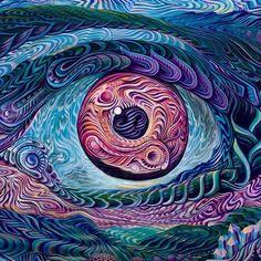 'Infinite Perspective' by Jade Amazon Acrylic on canvas 2014