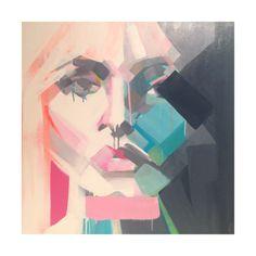 """""""She II"""" 30 x 24 Original Artwork by Lulu King"""