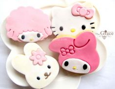Hello kitty and friends (-^^-) ♥ Dessert