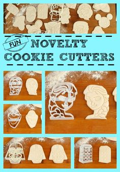 What a great range of FUN Novelty Cookie Cutters! Great for children's parties!