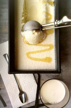 The 5 ingredient, Honey Cinnamon Ice Cream
